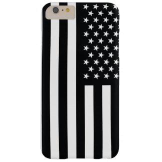 米国旗の白黒 BARELY THERE iPhone 6 PLUS ケース