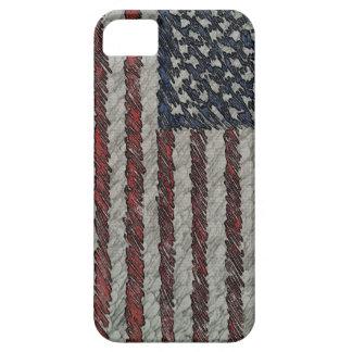米国旗の箱のiphone 5 iPhone SE/5/5s ケース