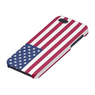 米国旗の精通したiPhone 5の光沢のある終わり iPhone 5 Cover