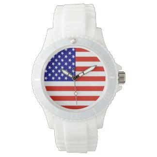 米国旗の腕時計 腕時計