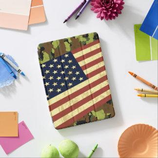 米国旗の迷彩柄 iPad AIR カバー