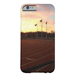 米国旗の陸上競技のiPhone 6の場合 Barely There iPhone 6 ケース