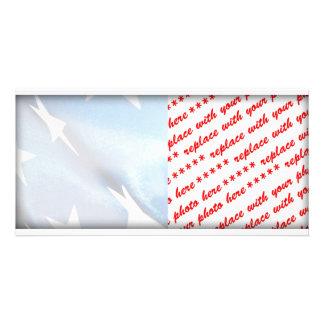 米国旗の青の分野 カード