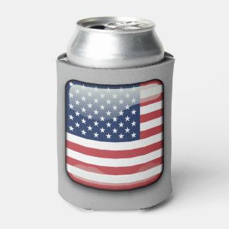 米国旗の飲み物のクーラー、7月の第4 缶クーラー