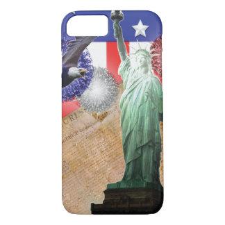 米国旗のiPhone 7つの場合の自由の花火 iPhone 7ケース
