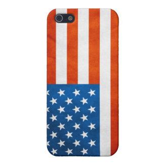 米国旗のIPodの箱 iPhone 5 Cover