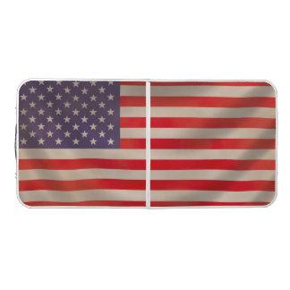 米国旗のPongのテーブル ビアポンテーブル