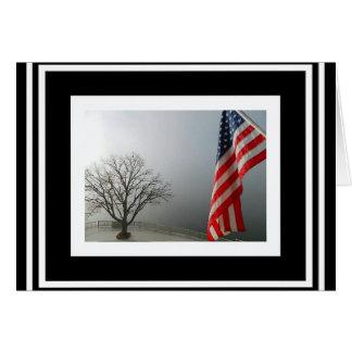 米国旗は私達の強さです カード