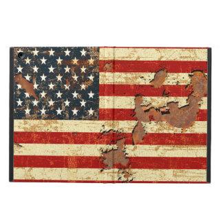米国旗は錆つきました iPad AIRケース