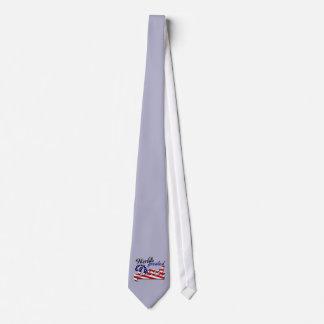 米国旗を持つ世界ですばらしいパパ ネクタイ