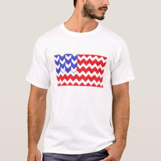 米国旗シェブロン Tシャツ