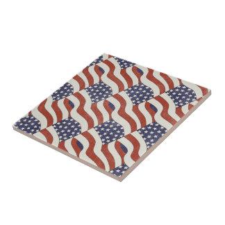 米国旗パターンタイル タイル