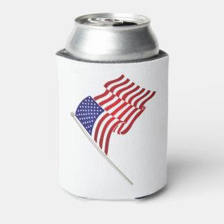 米国旗及びワシの飲み物のクーラー、7月の第4 缶クーラー