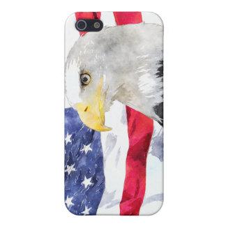 米国旗及びワシ iPhone 5 CASE