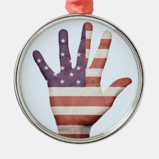 米国旗手 メタルオーナメント