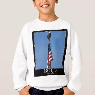 米国旗頂上アメリカのワシ スウェットシャツ