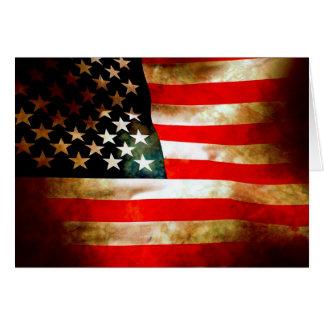 米国旗項目 カード