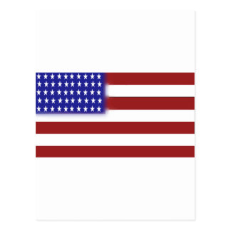 米国旗1 ポストカード