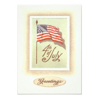 米国旗7月第4 カード