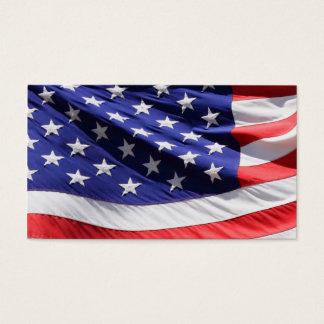 米国旗|の愛国心が強い兵士の退役軍人の軍隊 名刺