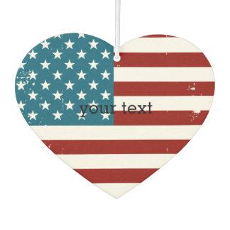 米国旗 カーエアーフレッシュナー