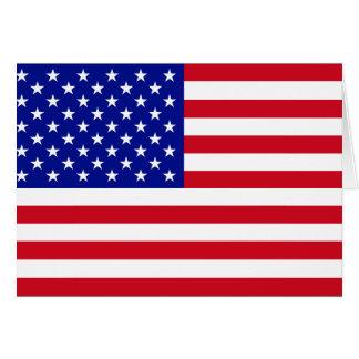 米国旗 カード