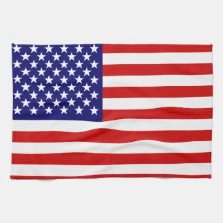 米国旗 キッチンタオル