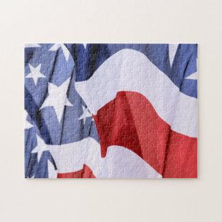 米国旗 ジグソーパズル