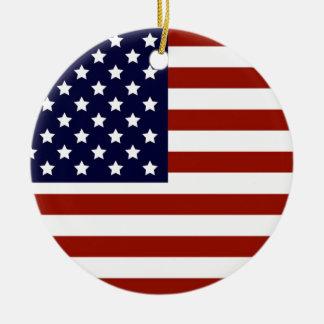 米国旗 セラミックオーナメント