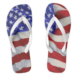 米国旗-ビーチサンダル ビーチサンダル