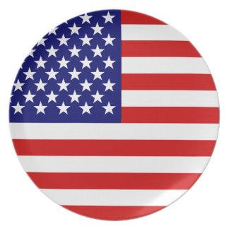 米国旗 プレート
