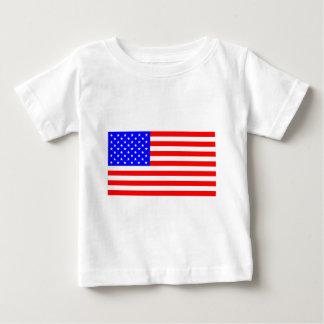 米国旗 ベビーTシャツ