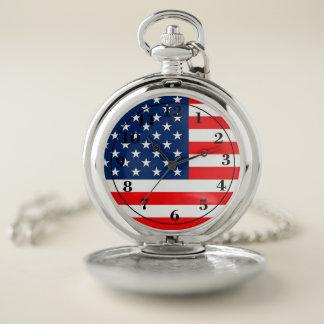 米国旗 ポケットウォッチ