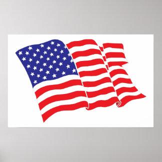 米国旗 ポスター