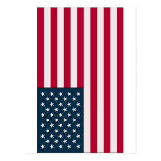 米国旗 ポストカード