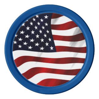米国旗 ポーカーチップ