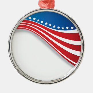 米国旗 メタルオーナメント
