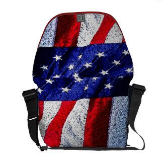 米国旗 メッセンジャーバッグ