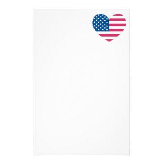 米国旗 便箋