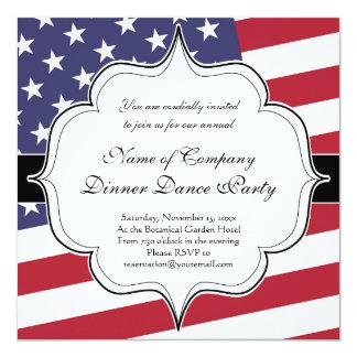 米国旗-米国を祝って下さい カード
