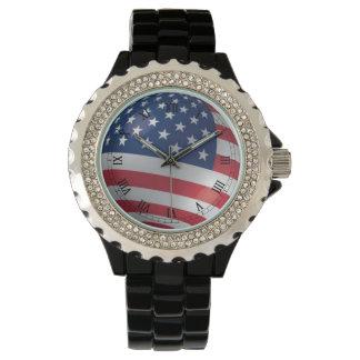 米国旗-米国 腕時計