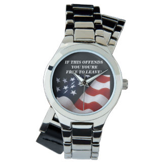 米国旗 腕時計