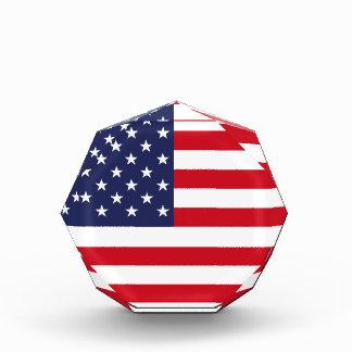 米国旗 表彰盾