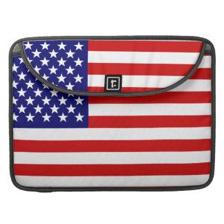 米国旗 MacBook PROスリーブ