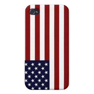 米国旗I iPhone 4/4Sケース