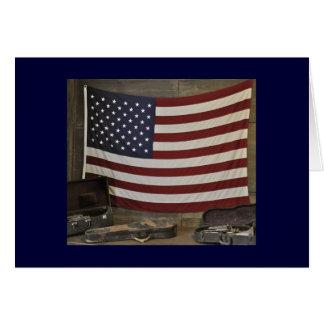 米国旗Notecard カード