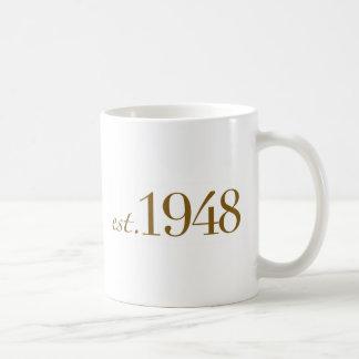 米国東部標準時刻1948年 コーヒーマグカップ