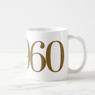 米国東部標準時刻1960年 コーヒーマグカップ
