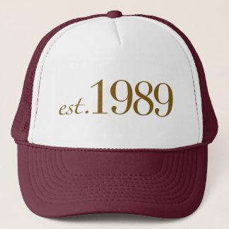 米国東部標準時刻1989年 キャップ