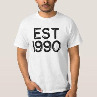 米国東部標準時刻1990年 Tシャツ
